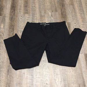 Gap slim city black pants
